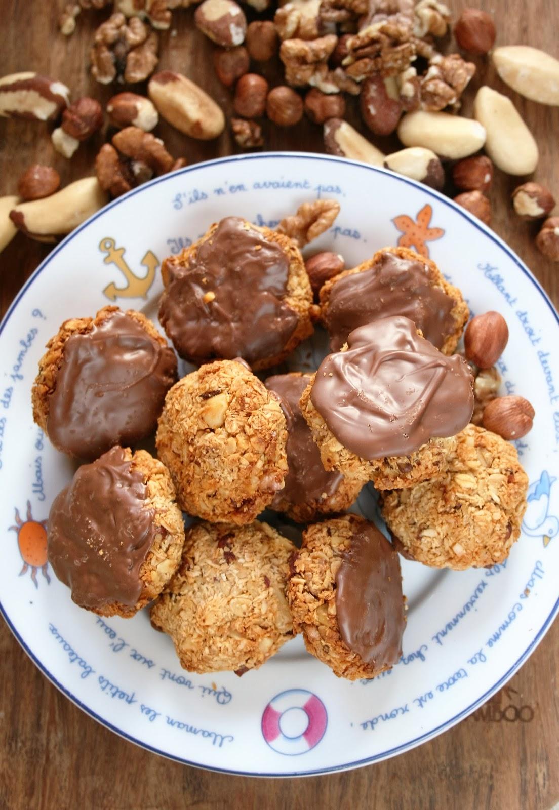 Ciasteczka orzechowo-kokosowe