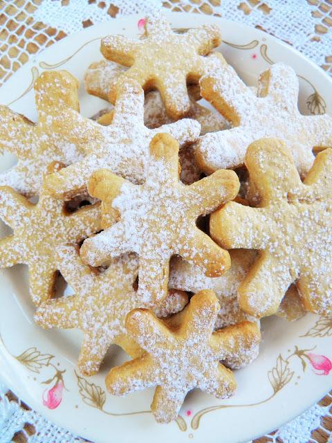 Ciasteczka z miodem i cynamonem