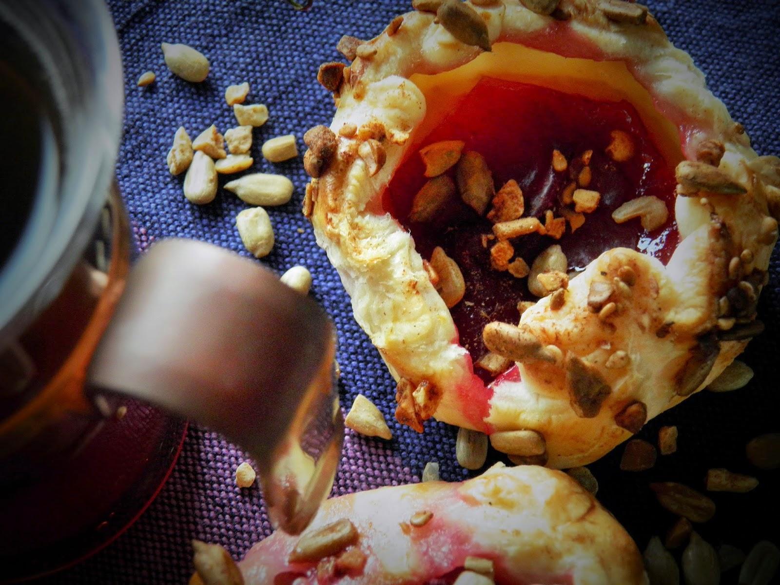 Ciasteczka ze śliwką i cynamonem 2