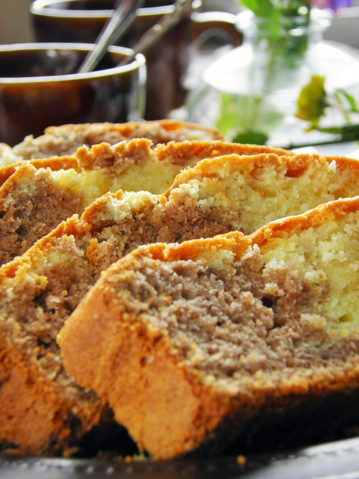 Dwukolorowe ciasto