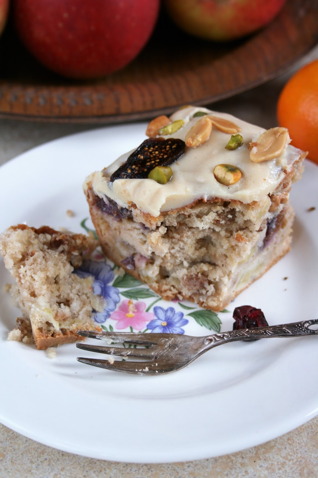 Jesienne ciasto owocowe z imbirem
