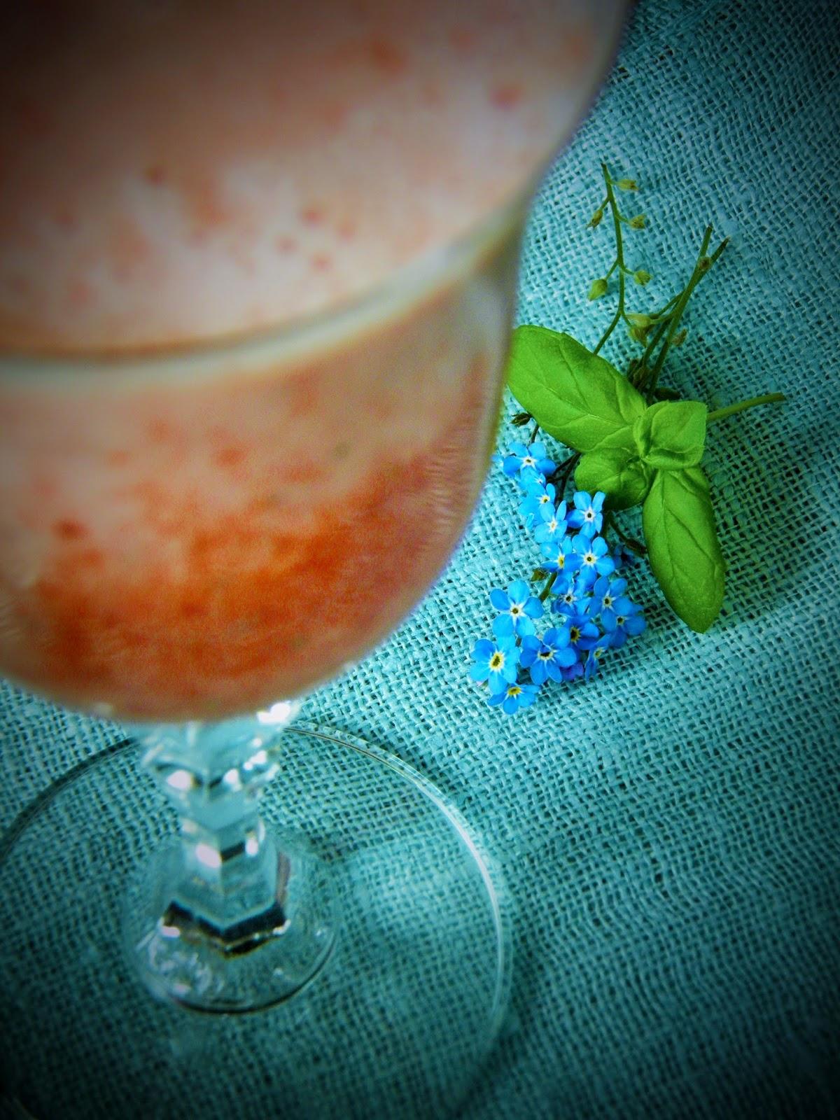 Koktajl truskawkowy z mascarpone