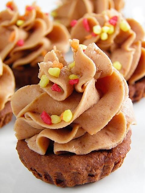 Mini-babeczki z czekoladą