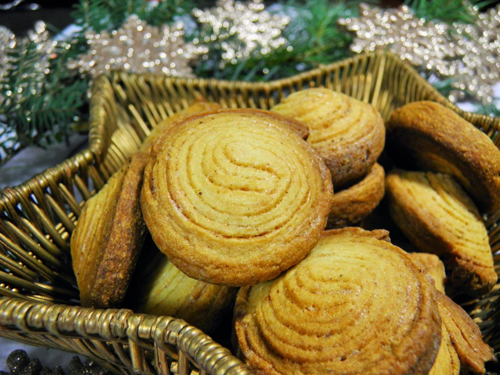 Serowe ciasteczka korzenne