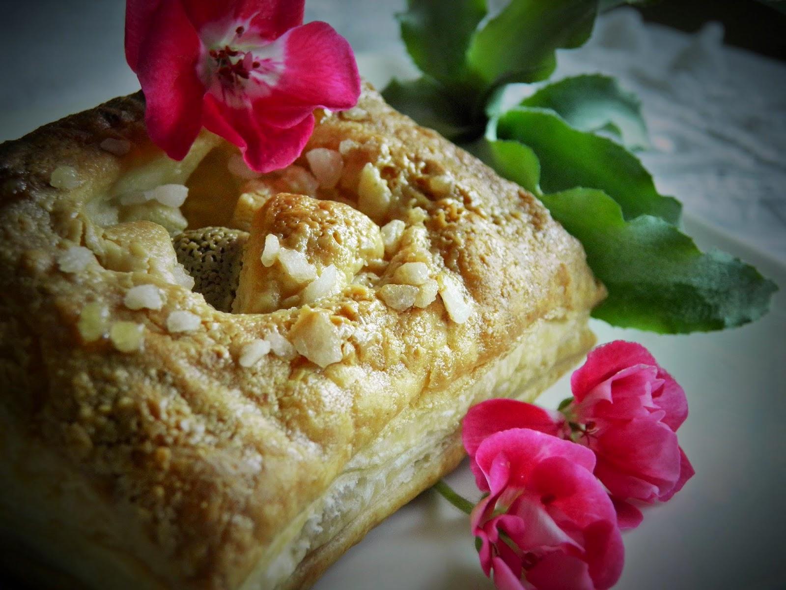 Sezamowe ciastka z marcepanem
