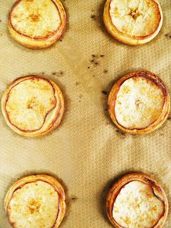 Talarki z jabłkami i kokosem -przygotowanie 3