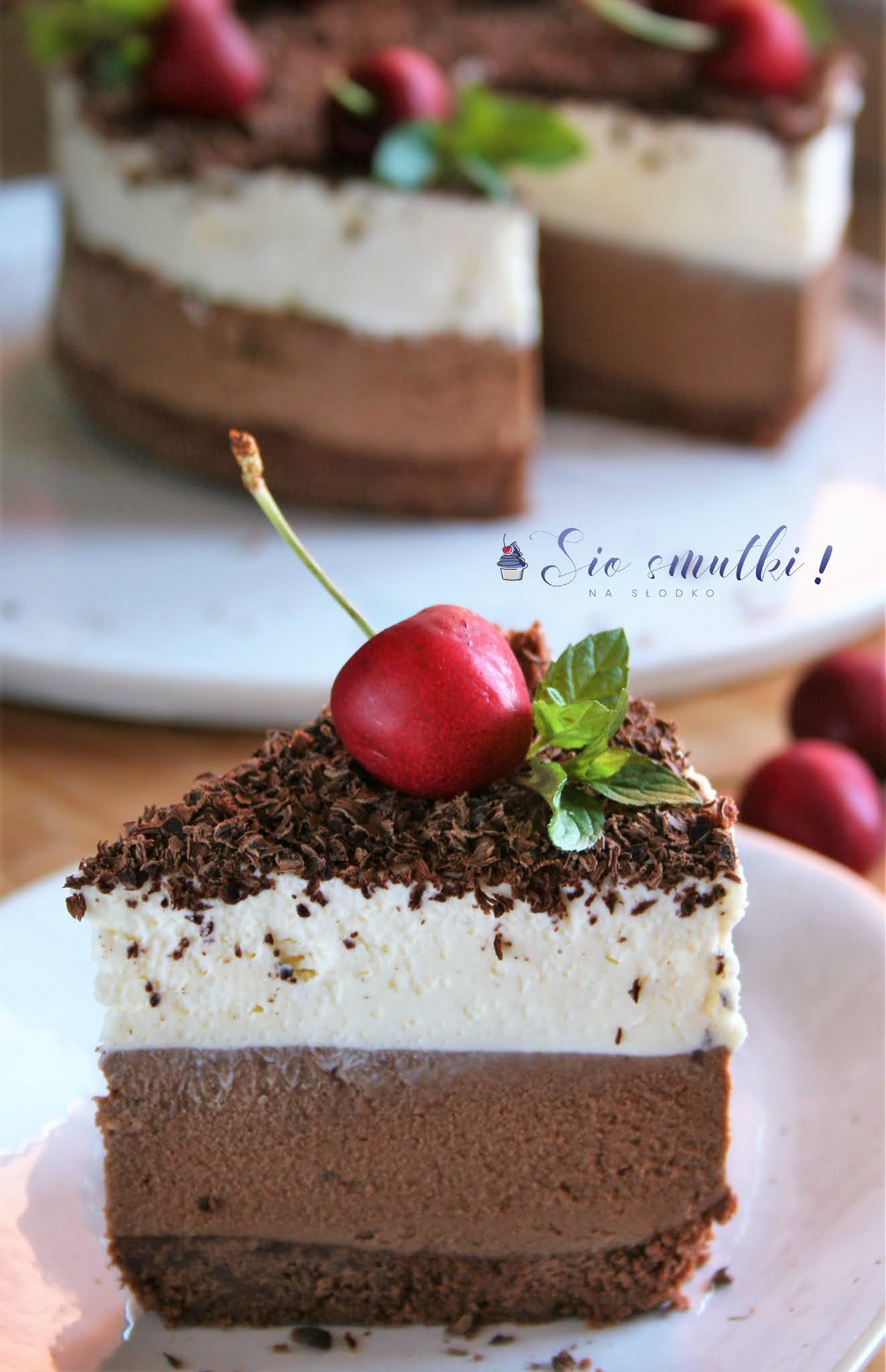 Budyniowy torcik czekoladowy